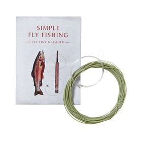 Simple Fly Fishing Fly Line and Leader 20' for 10'