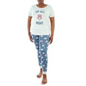 COCO LOUNGE Juniors Plus Two Piece Night Owl Sleep