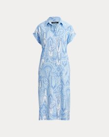 Ralph Lauren Paisley Long Nightshirt
