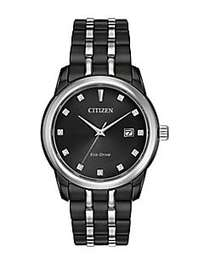 Citizen Corso Eco-Drive Stainless Steel & Diamond