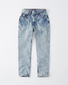 High Rise Mom Jeans, ACID WASH