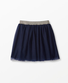Hanna Andersson Tutu Skirt In Soft Tulle in Navy -