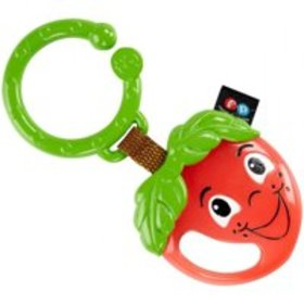 Fisher-Price Happy Apple Teether with Attachable L