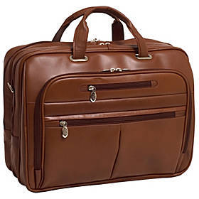 McKlein USA R Series Rockford Leather Laptop Case