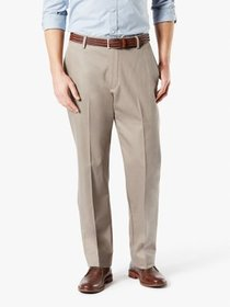 Men's Big & Tall Classic Fit Signature Khaki Lux C