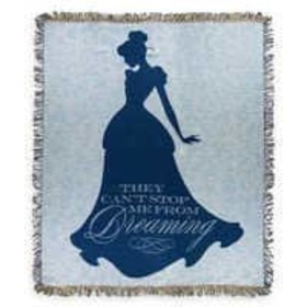 Disney Cinderella Tapestry Woven Throw