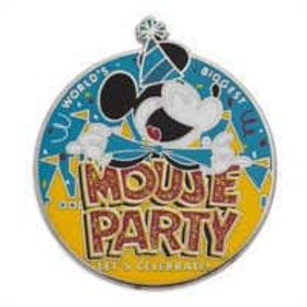 Disney Mickey Mouse ''Mouse Party'' Pin