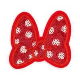 Disney Minnie Mouse Bow Patched