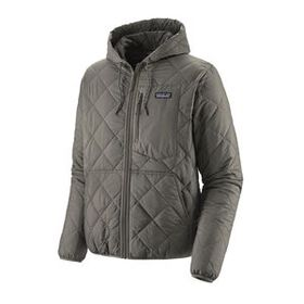 M's Diamond Quilted Bomber Hoody, Shale (SHLE)