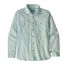 M's Long-Sleeved Cayo Largo II Shirt, Chambray: Br