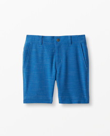Hanna Andersson Sunblock Chino Shorts in Baltic Bl