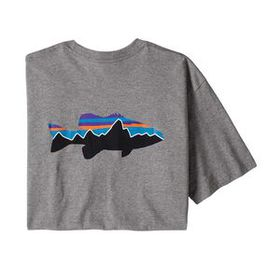 M's Fitz Roy Smallmouth Responsibili-Tee®, Break U
