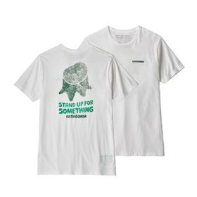 M's Stand Up® Organic T-Shirt, White (WHI)
