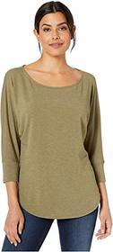 Nally & Millie French Terry Dolman Sleeve Top