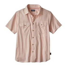 M's Cayo Largo II Shirt, Chambray: Peach Sherbet (