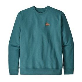 M's Small Flying Fish Uprisal Crew Sweatshirt, Tas