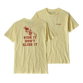 M's Knobby Lines Organic T-Shirt, Resin Yellow (RE