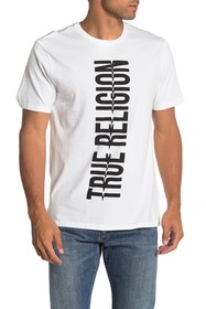 True Religion Short Sleeve Bold Logo T-Shirt