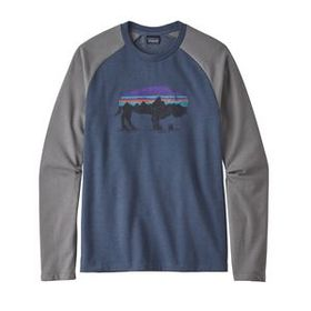 M's Fitz Roy Bison Lightweight Crew Sweatshirt, Do
