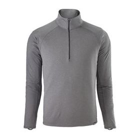 M's Capilene® Midweight Zip-Neck, Forge Grey - Fea