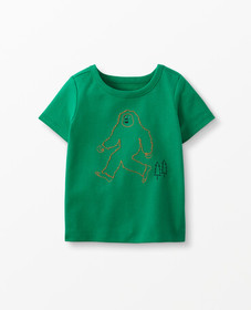 Hanna Andersson Sueded Jersey Art Tee in Go Green