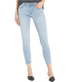 Bebe Logo Denim in Ponce Light