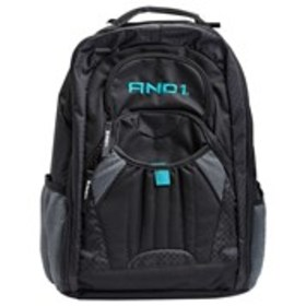 AND1 Boys Color Block Quilted Backpack with Water