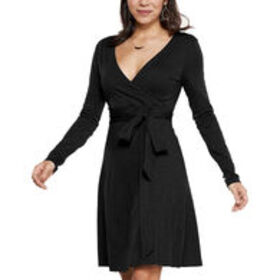 TOAD & CO. Women's Cue Wrap Long-Sleeve Dress