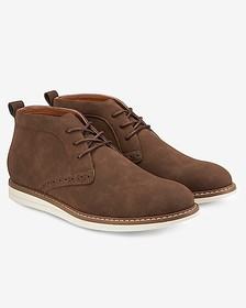 Express reserved footwear the hawser chukka boot
