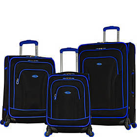 Olympia USA Santa Fe II 3 Piece Expandable Spinner