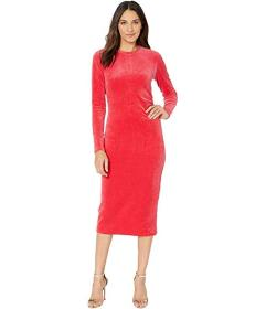 Juicy Couture Stretch Velour Midi Dress