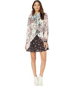 Juicy Couture Engineered Secret Garden Floral Dres