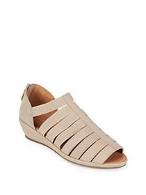 Gentle Souls by Kenneth Cole Lana Leather Wedge Sa
