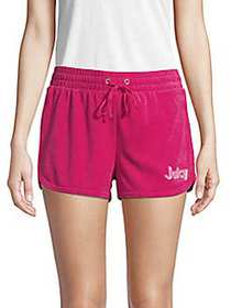 Juicy Couture Juicy A Go-Go Micro-Terry Shorts SWE