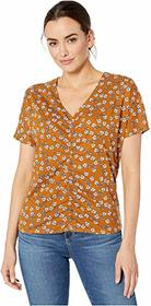 Kenneth Cole New York Ruched Front Top