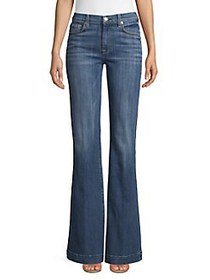 7 For All Mankind Ginger Flared Jeans BROKEN TWILL