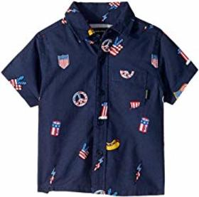 Quiksilver Kids Merica Patch Short Sleeve (Toddler