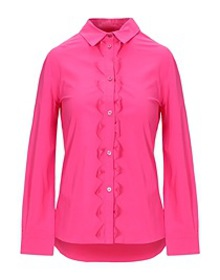MOSCHINO CHEAP AND CHIC - Solid color shirts & blo