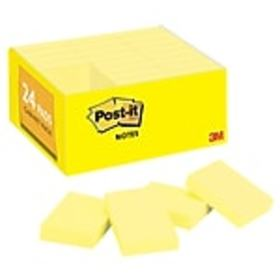 Post-it® Notes Value Pack, 1.5 x 2 Canary Yellow,