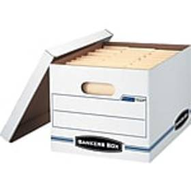 Bankers Box Stor/File Corrugated Boxes, Letter/Leg