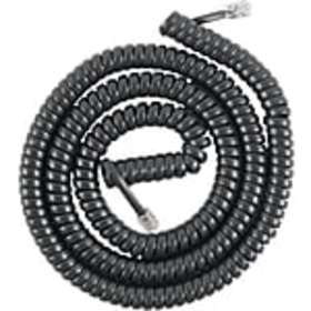 Power Gear 27639/86177 Telephone Coil Cord, Black