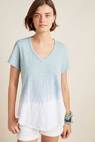 Anthropologie Quinn Ombre Top