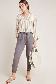 Anthropologie Cloth & Stone Seascape Joggers