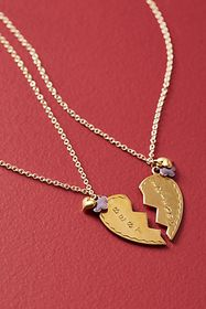 Anthropologie Best Friends Forever Necklaces
