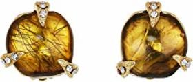 Vince Camuto Stud Clips Earrings