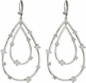 Nina Adorned Layered Teardrop Earrings