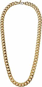 Kenneth Jay Lane Gold Filed Link Chain Necklace
