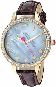Betsey Johnson BJ00705-02 - Mixed Emoji Dial & Bur