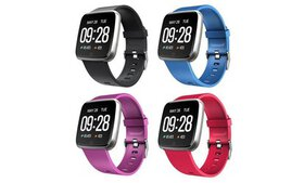 Touch Screen Health Companion Wearable Smartwatch