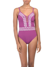 reveal designer Love N Lace One-piece Swimsuit